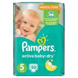 Pampers Active Baby-Dry Pieluchy 5 Junior 50 sztuk
