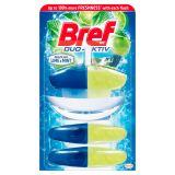 Bref WC Duo-Aktiv Brazilian Lime & Mint Zawieszka do muszli WC 3 x 50 ml