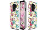 Zizo Sleek Hybrid Design Cover - Etui Samsung Galaxy S9+ (Flowers)