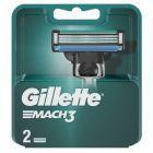 Gillette Mach3 Ostrza wymienne do maszynki do golenia dla mężczyzn, 2 sztuki