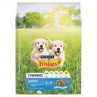 Friskies Vitafit Junior z kurczakiem dodatkiem mleka i warzyw Pełnoporcjowa karma dla szczeniąt 3 kg