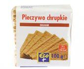 Pieczywo chrupkie żytnie z mąką pszenną graham z dodatkiem kaszki kukurydzianej 100g