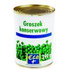 Groszek konserwowy eco+ 390g/220g