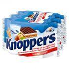 Knoppers Wafelek mleczno-orzechowy 75 g (3 sztuki)