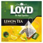 Loyd Lemon Tea Herbata czarna aromatyzowana 85 g (50 torebek)