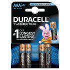 Duracell Turbo Max AAA Baterie alkaliczne 4 sztuki