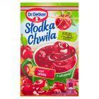 Dr. Oetker Słodka Chwila Kisiel z kawałkami owoców smak wiśniowy 31,5 g