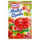 Dr. Oetker Słodka Chwila Kisiel z kawałkami owoców smak poziomkowy 31,5 g