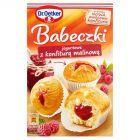 Dr. Oetker Babeczki jogurtowe z konfiturą malinową 405 g