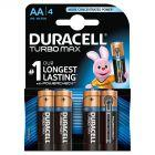 Duracell Turbo Max AA Baterie alkaliczne 4 sztuki