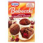 Dr. Oetker Babeczki czekoladowe z konfiturą wiśniową 442 g