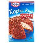Dr. Oetker Kopiec Kreta Oryginalny z czekoladą Ciasto 410 g