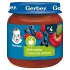 Gerber Jabłuszka z owocami leśnymi po 4 miesiącu 125 g