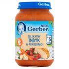Gerber Delikatny indyk w pomidorach po 6 miesiącu 190 g