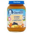 Gerber Schabik ze śliwką w warzywach po 6 miesiącu 190 g