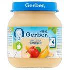Gerber Jabłuszka z bananami po 4 miesiącu 125 g