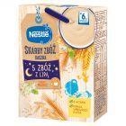 Nestlé Radosny Brzuszek Kaszka 5 zbóż z lipą po 6 miesiącu 250 g