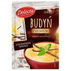 Delecta Premium Budyń smak waniliowy z dodatkiem wanilii 47 g