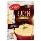 Delecta Premium Budyń smak śmietankowy z białą czekoladą 47 g