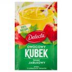 Delecta Owocowy kubek Kisiel o smaku jabłkowym 30 g