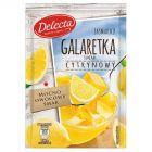 Delecta Galaretka smak cytrynowy 75 g
