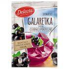 Delecta Galaretka smak czarnej porzeczki 75 g