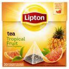 Lipton Owoce Tropikalne Herbata czarna 36 g (20 torebek)