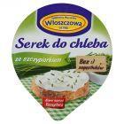 Włoszczowa Serek do chleba ze szczypiorkiem 100 g