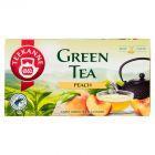 Teekanne Green Tea Peach Aromatyzowana herbata zielona 35 g (20 torebek)
