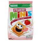 Nestlé Strawberry Minis Płatki śniadaniowe 500 g