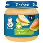 Gerber Gruszki Williamsa po 4 miesiącu 125 g