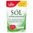 Sante Sól morska jodowana o obniżonej zawartości sodu 350 g