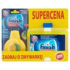 Finish 5x Power Actions Odświeżacz do zmywarki 4 ml i Płyn do czyszczenia zmywarki cytrynowy 250 ml