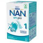 Nestlé Nan Optipro 1 Mleko początkowe w proszku dla niemowląt od urodzenia 800 g (2 sztuki)