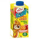 Hortex Leon Jabłka brzoskwinie pomarańcze Napój wieloowocowy 200 ml