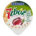 Bakoma 7 zbóż Jogurt ze śliwkami i ziarnami zbóż 140 g