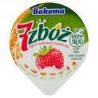 Bakoma 7 zbóż Jogurt z truskawkami i ziarnami zbóż 150 g