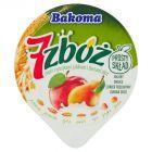 Bakoma 7 zbóż Jogurt z jabłkami gruszkami i ziarnami zbóż 150 g