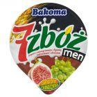 Bakoma 7 zbóż men Jogurt z winogronami figami rodzynkami i zbożami 300 g