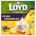 Loyd Herbatka owocowa aromatyzowana o smaku pigwy i mirabelki 40 g (20 x 2 g)