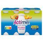 Danone Actimel Mleko fermentowane o smaku wieloowocowym 800 g (8 x 100 g)