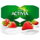 Danone Activia Truskawka Jogurt 480 g (4 sztuki)