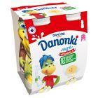 Danone Danonki Jogurt banan 400 g (4 sztuki)