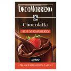 DecoMorreno La Festa Chocolatta Hot Strawberry Napój instant o smaku czekoladowo-truskawkowym 25 g