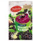 Delecta Owocowy kubek Kisiel o smaku czarnego bzu 30 g