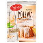 Delecta Polewa smak białej czekolady 100 g