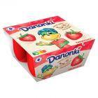 Danone Danonki truskawka Twarożek 200 g (4 sztuki)