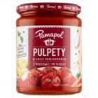 Pamapol Pulpety mięsno-warzywne w sosie pomidorowym 500 g