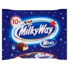 Milky Way Minis Batoniki z białym nadzieniem oblane czekoladą 170 g