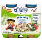 BoboVita Kuchnie Europy Obiadek Hiszpański tuńczyk z ryżem i cukinią po 9 miesiącu 2 x 200 g